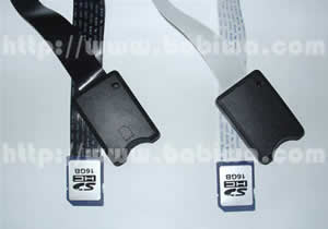 Type 15: AS Series SD Memory Card Slot Extension Cable with Protective Case