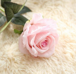 Artificial Flower Rose ,Pale Pink ,High quality Velvet ,A bunch with 10 heads ,Free Shipping to worldwide area. Momda recommended trustworthy Supplier.