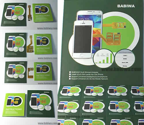 Genuine BABIWA© Multi Simcard Adapter ,The world only professional multi sim manufacturer and supplier since 2002.accept OEM and ODM customized orders.