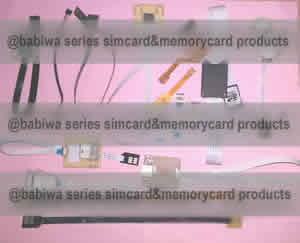 BABIWA.COM Extender Linker Converter of Memorycard/Simcard Upon Customers' Individual Customization and Personalization