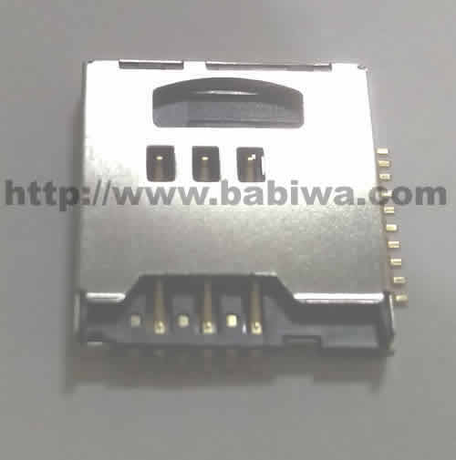 10 pieces of Babiwa Double Function and Double Layer Simcard/Memorycard Connector No.babiwa-sim-m1-A .universally Standarded Mini-Simcard and Micro-SD Connector .universal Mini-Simcard/Micro-SD Jack,Mini-Simcard/Micro-SD Slot,Mini-Simcard/Micro-SD Socket,Mini-Simcard/Micro-SD Holder etc. Also provide Customized Order and Soldering Service On PCB.Wholesale and Retail Accepted. (Free Shipping via Trackable Registered Airmail to Worldwide Area)