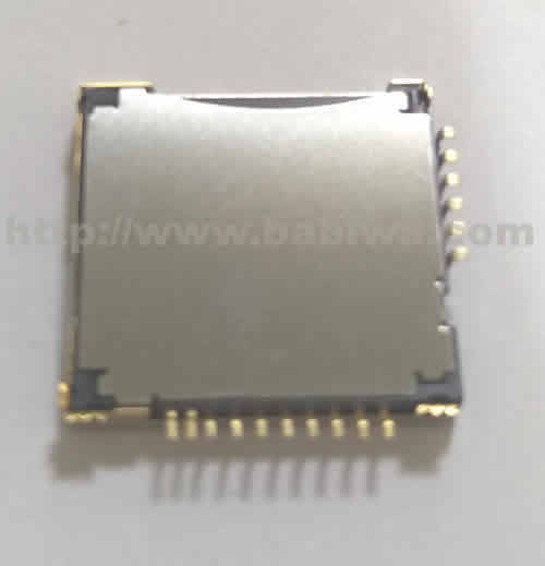 10 pieces of Babiwa Double Function and Double Layer Simcard/Memorycard Connector No.babiwa-sim-m1-A .Univerally Standarded Mini-Simcard and Micro-SD Connector .Univerval Mini-Simcard/Micro-SD Jack,Mini-Simcard/Micro-SD Slot,Mini-Simcard/Micro-SD Socket,Mini-Simcard/Micro-SD Holder etc. Also provide Customized Order and Soldering Service On PCB.Wholesale and Retail Accepted. (Free Shipping via Trackable Registered Airmail to Worldwide Area)