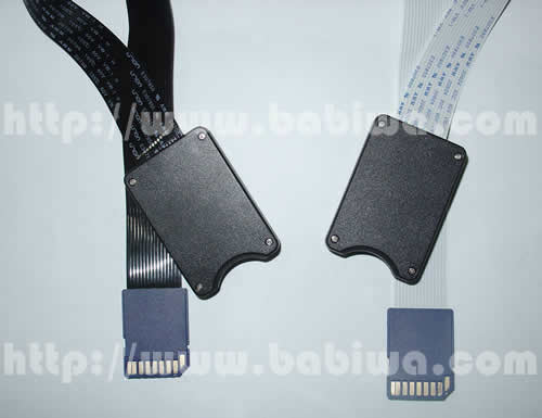 Type 15 Universal SD Memorycard Slot Extender Linker.AS Series with protective case version.Extention Cable from Universal SD Slot. Support Any devices (brands,models) using SD memorycard. (Free Shipping via Trackable Registered Airmail to Worldwide Area)