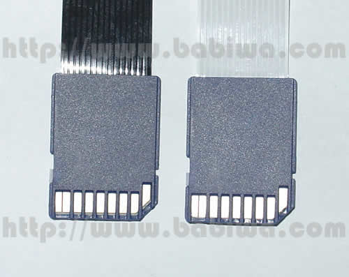Genuine Patented Type 15 SD Memory Card Extender Converter Extention Cable linker