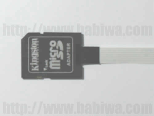 Type 27S Universal SD memorycard memorycard slot Extender. The strengthened version of Extention Cable from Universal SD Memorycard Slot.Support Any devices(brands,models) using SD memorycard.(Free Shipping via Trackable Registered Airmail to Worldwide Area)