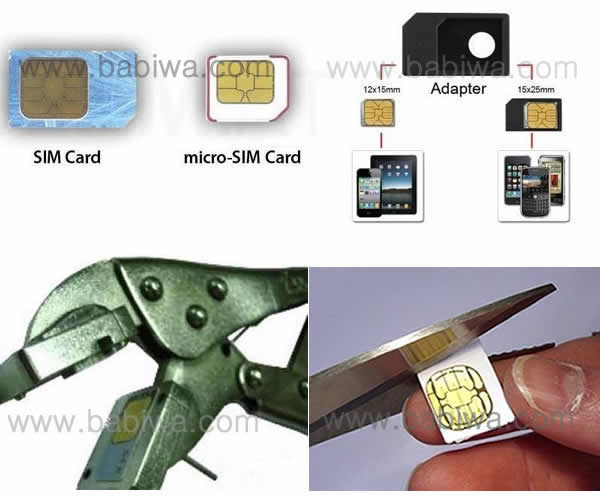 Luxury Version of Type 11 Universal Normal SimCard to Micro Sim Card Converter