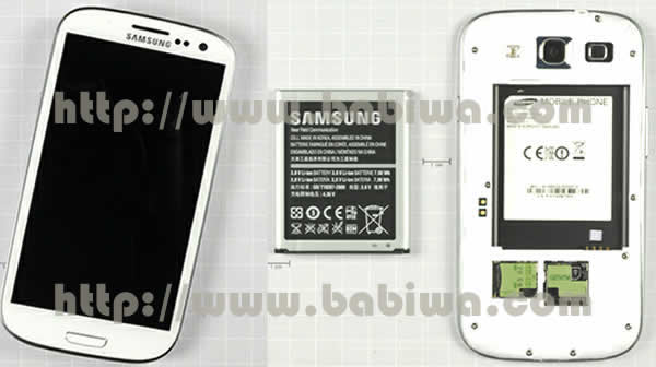 Genuine Babiwa Q series Dual Sim Adapter Holder for Samsung Galaxy S3