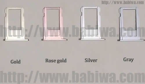 BW-AGL-06H Rose Gold : Genuine BABIWA© Q series Apple Iphone 6S(Rose Gold) Dual Sim Card Adapter ,with Specially Molded Rose Gold Nano-Sim Tray(for the purpose of easy installation).Support 4g fdd-lte 3.5g hsdpa 3g umts wcdma 2g gsm gprs.