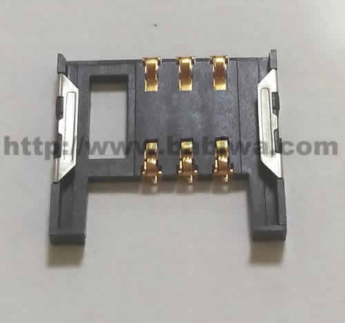 10 pieces of Babiwa Simcard Connector No.babiwa-sim-01-B .universal Standarded Mini-Simcard Connector .universal Simcard Jack,Simcard Slot,Simcard Socket,Simcard Holder etc. Also provide Customized Order and Soldering Service On PCB.Wholesale and Retail Accepted. (Free Shipping via Trackable Registered Airmail to Worldwide Area)