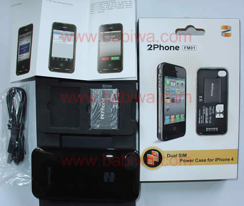 dual sim online for 2phone with iphone 4