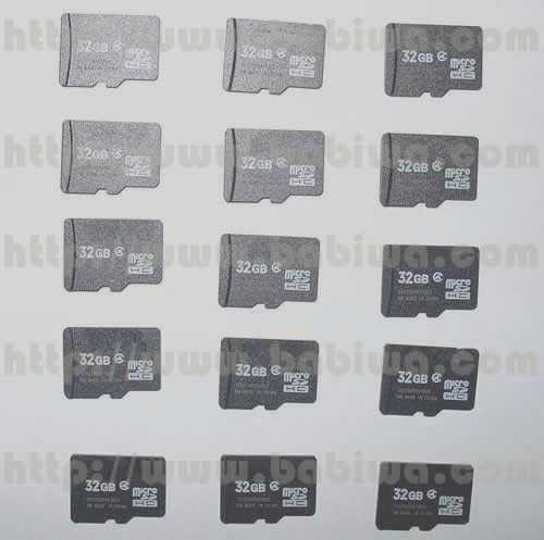 Genuine 32G Micro SD (TF) Memory Card, Full Capacity of 32G(Not Common Fake and Updated Capacity) and Really Full Transfer Speed.Gu Su Xin Chen Electronic Ltd Leading Chinese Reliable Memory card Wholesale Supplier Since 2003