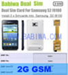 Babiwa Product ID:BW-3CL-4G - Dual Sim Card Adapter for Samsung Galaxy S2 (SII, I9100 , I910X ,SGH I777 I727, Galaxy S2 PLUS I9105 ...