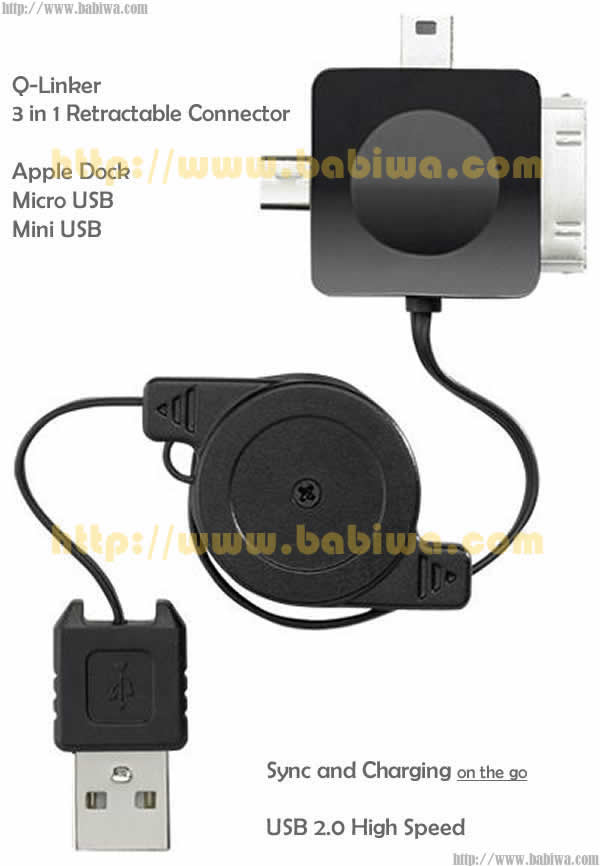 Multi-functional-USB-Retractable-Cable-for-iphone-ipad-universal-phone-Dock-miniusb-microusb