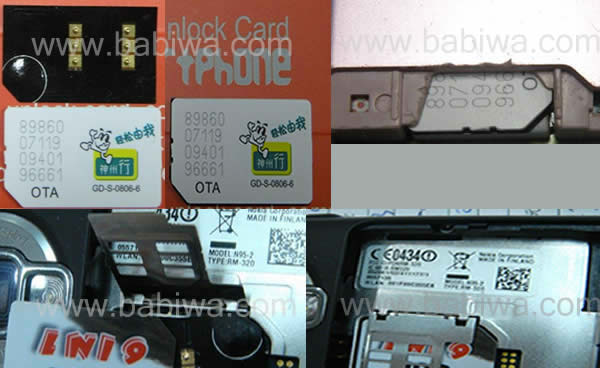 Genuine i-smartphone Luxury version of Unlockingc card for Universal Mobile Phones