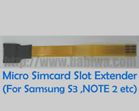 Linker Type 9-R : Normal Simcard to Micro-simcard Slot Convertor Linker (Strengthened Short Version)