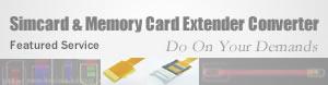 Simcard Memorycard USB Extender Linker Supplier Manufacturer Gu Su Xin Chen Electronic