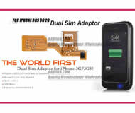 Dual Sim Card Adapter for Apple IPHONE 3gs iphone 3g iphone 1 BW-AGL-3