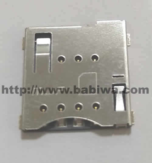 0 pieces of Babiwa micro-simcard Connector No.babiwa-sim-02-A .Univeral Standarded micro-simcard Connector .Univerval micro-simcard Jack,micro simcard Slot,micro simcard Socket,micro simcard Holder etc. Also provide Customized Order and Soldering Service On PCB.Wholesale and Retail Accepted. (Free Shipping via Trackable Registered Airmail to Worldwide Area) ail thru post office)