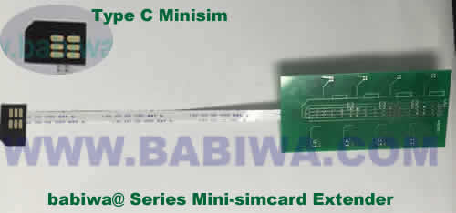 Babiwa@ No.YB-32C Universal Micro-simcard to External 8x Minisimcard(microsimcard,nanosimcard) Extension Cable.Support Any devices (brands,models) using Micro simcard in Type C Bevel Direction.Support Extending to Most Up to 8x External Simcards. also called Micro-simcard to 8 simcards Extension Cable, 8 simcards Linker to Micro Simcard Tray, Micro Simcard Connector Extender to 8 sim.Universal Micro Simcard Jack Extension Cable to Multi Simcards, Extender of Micro Simcard Slot to External 8 simcards ,8 Simcard Linker of Micro Simcard Socket,8 SIM Extender for Micro Simcard Holder.(Free Shipping via Trackable Registered Airmail to Worldwide Area WWW.BABIWA.COM)