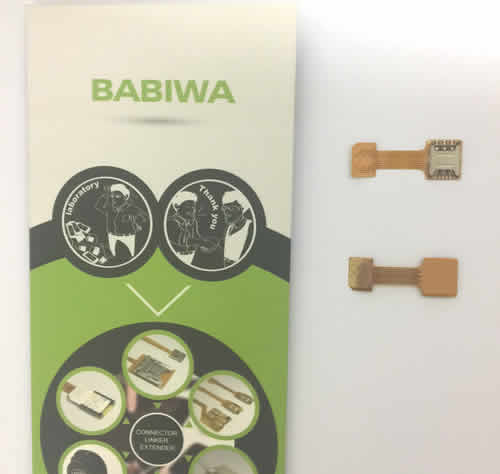 Genuine Babiwa@ Magic Function-Extending Dual-Simcard Adapter for Samsung Galaxy C5 series mobilephone . Transferring Samsung Galaxy C5 series mobilephone into holding 2 Simcards online and 1 memorycard installed at the same time (Simultaneously ) ! also named Samsung C5 pro (Sample Free Shipping via Trackable Registered Airmail to Worldwide Area WWW.BABIWA.COM)