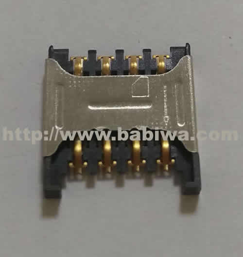 Babiwa Simcard Connector No.babiwa-sim-01-A .Univeral Standarded Mini-Simcard Connector .Univerval Simcard Jack,Simcard Slot,Simcard Socket,Simcard Holder etc. Also provide Customized Order and Soldering Service On PCB.Wholesale and Retail Accepted. (Free Shipping via Trackable Registered Airmail to Worldwide Area)