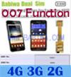 Babiwa ID Produk: BW-3CL-4 - Dual Sim Kad Adapter untuk Samsung Galaxy NOTA (NOTA 1, NOTA saya, I9220, I922X, N7000, SGH I717 ...