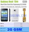 Babiwa ID Produk: BW-3CL-4G - Dual Sim Card Adapter untuk Samsung Galaxy S2 (SII, I9100, I910X, SGH I777 I727 ...
