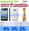 Babiwa ID Produk: BW-3CL-4 - Dual Sim Card Adapter untuk Samsung Galaxy S2 (SII, I9100, I910X, SGH I777 I727 ...